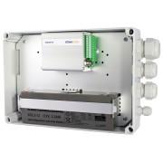 IP-kapsling inkl. batteri & 3st förskruvningar